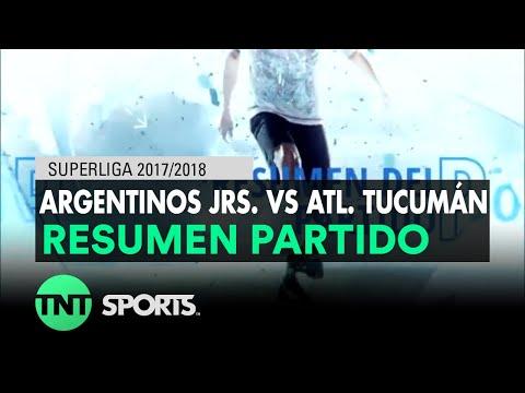 Resumen de Argentinos Jrs. vs Atl. Tucumán (2-2)   Fecha 16 - Superliga Argentina 2017/2018
