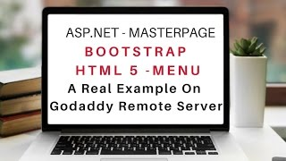 Bootstrap v3 3 7 Responsive Menu On Master Page ASP NET HTML 5