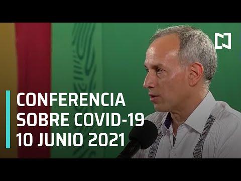 Informe Diario Covid-19 en México - 10 junio 2021
