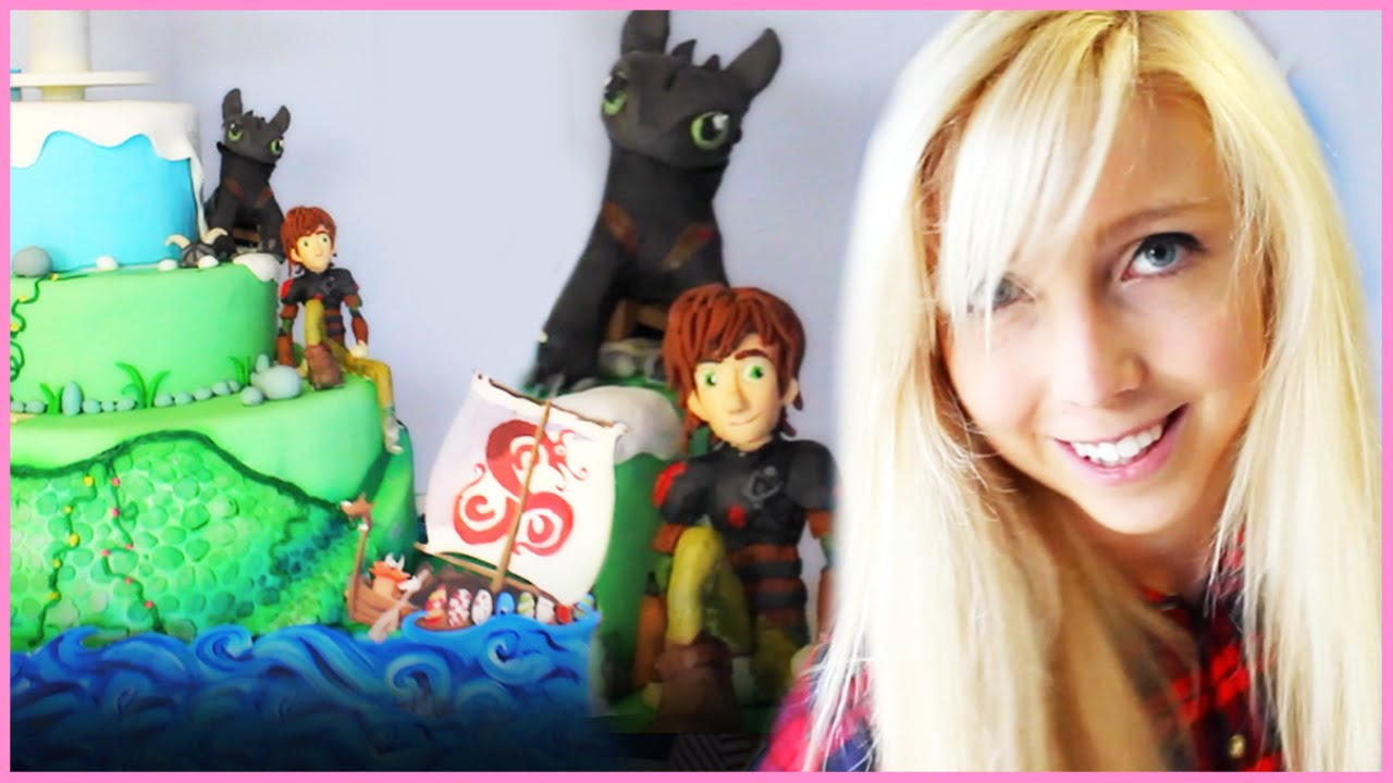 how to train your dragon cake wars