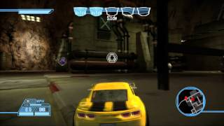Transformers: The Game Walkthrough: Autobots - Inside Hoover Dam - Breakout!