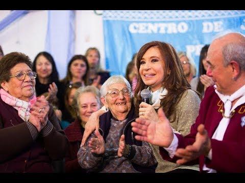 Cristina Kirchner: Lo que están haciendo es dar manotazo a la caja de los jubilados