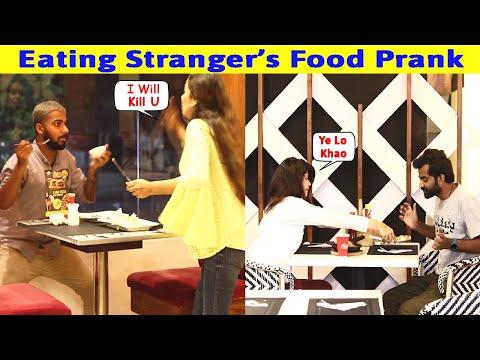 Eating Stranger's Food Prank Ft. @Crazy Prank TV | Waqas Rana | Pranks in Pakistan | Zero Brand
