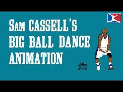 Sam Cassell's Big Ball Dance (5 Minute Animation)