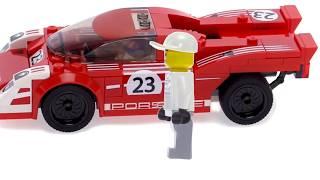LEGO Tezligi jar Qatorli Porsche bo'yicha LEGO avtomobillar Chempionlar