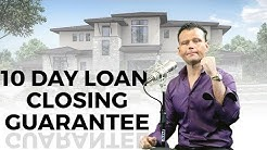 10 Day Loan Closing or It's FREE
