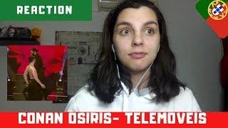 "EUROVISION 2019 (PORTUGAL): Conan Osíris - ""Telemóveis"" ||REACTION (eng.subs)||"