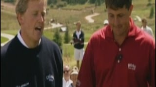 Mickelson vs Montgomerie (Shell