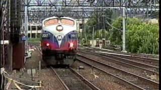 Metro North & Amtrak  Passenger Trains - Stamford, CT - 6/14/00