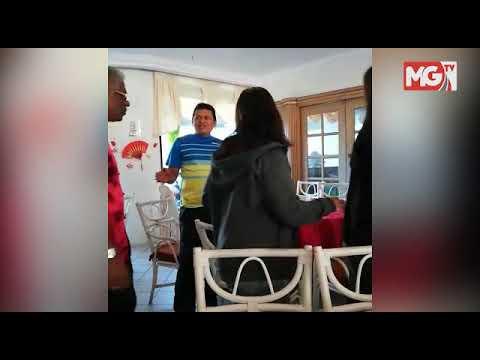 Kit Siang dimalukan pengunjung ketika kempen