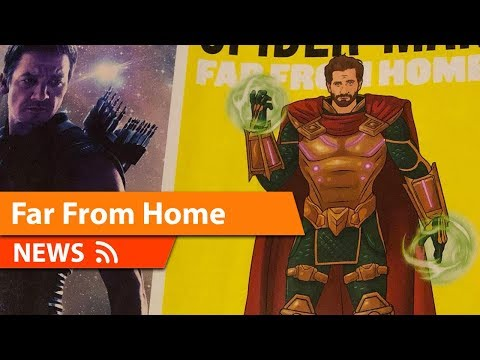 Mysterio Spider-Man Far From Home Promotional Magazine Art