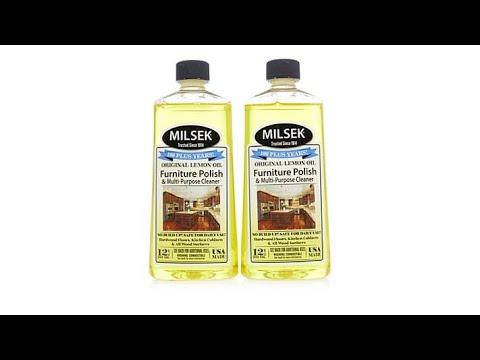 Milsek Lemon Oil Wood Cleaner and Polish 2pack