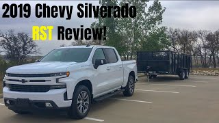 A GREAT TRUCK!---2019 Silverado RST Review