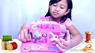 Mainan MESIN JAHIT 💖 MAINAN ANAK PEREMPUAN 💖 Lets Play Jessica
