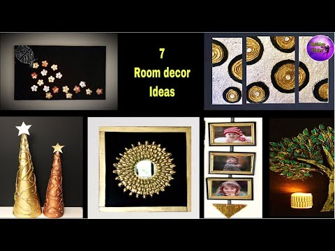 7 Craft ideas | room decor | art and craft ideas | Fashion pixies | waste material craft ideas