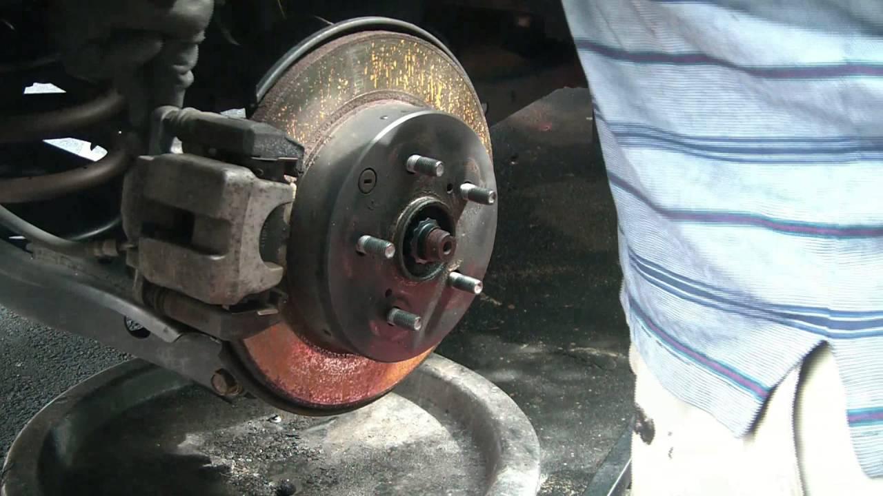 2010 Toyota Rav4 Rear Brake Pad Replacement