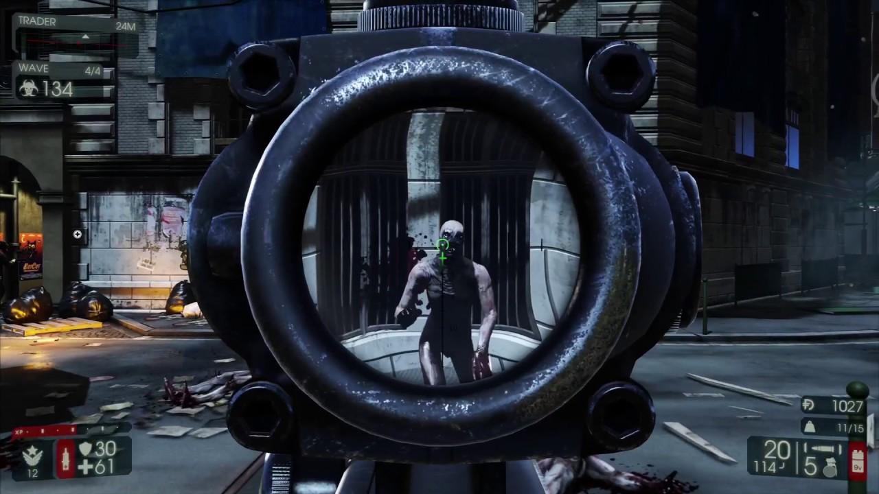 Killing Floor 2 M16 W M203 M14 Ebr Youtube