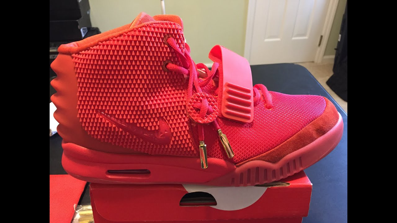 4744873d2c5 Nike Air Yeezy 2 Red October Review - YouTube