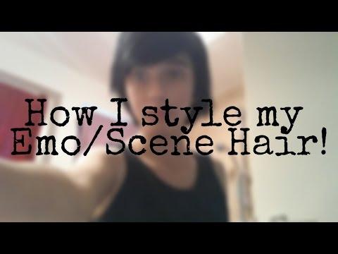 How I style my Emo/Scene Hair!   Demon Warrior