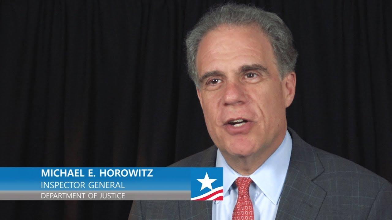 USDOJ/OIG | IG Act 40: Michael E  Horowitz, Inspector
