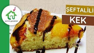 Şeftalili Kek - Meyveli Kek Nasıl Yapılır - Kek Tarifleri