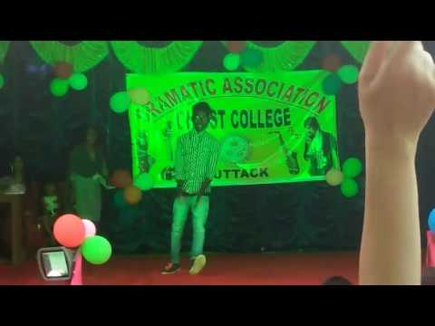 Clg lyrical hip–hop dance in cuttack christ collage