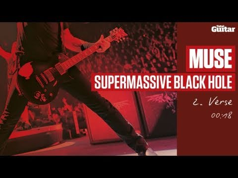 Guitar Lesson: Muse 'Supermassive Black Hole' -- Part Two -- Verse (TG215)