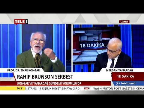 18 Dakika - (12 Ekim 2018) Merdan Yanardağ & Emre Kongar | Tele1 TV