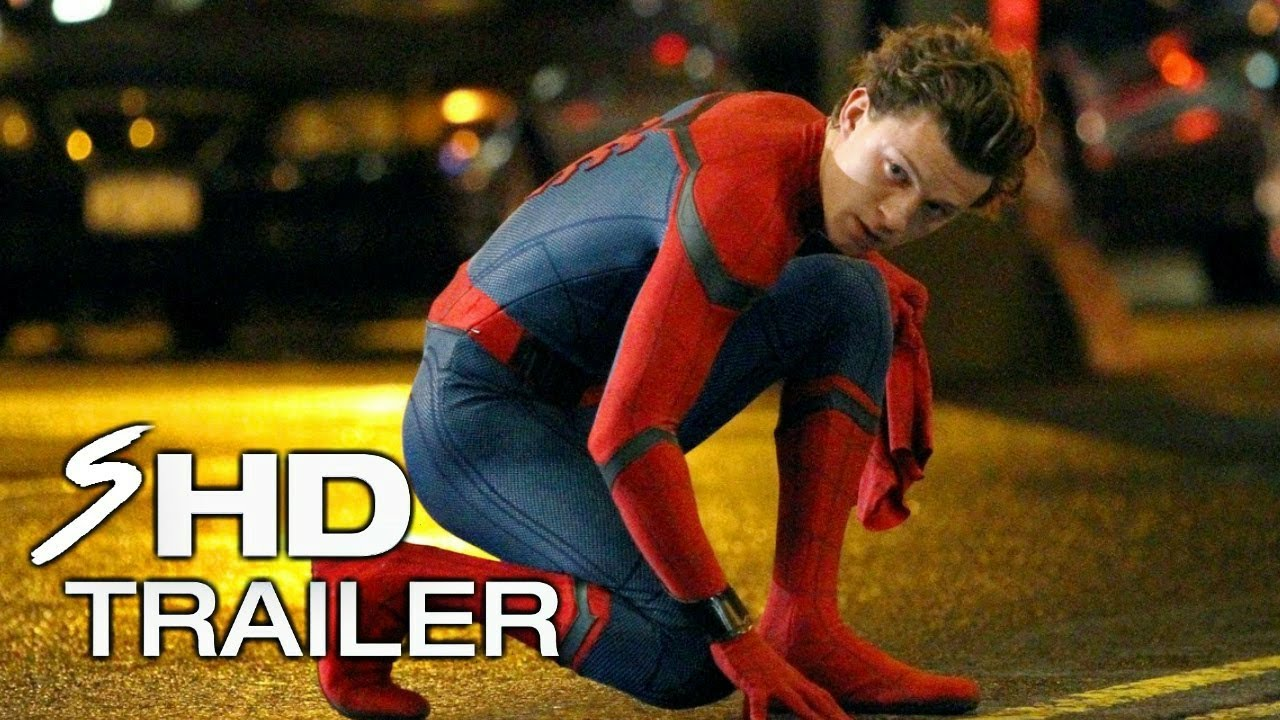 Marvel's Spider-Man: Homecoming – TOM HOLLAND Movie Trailer (HD) Marvel Reboot Fan Made