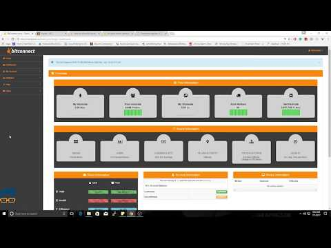 How to get free Bitconnect coins - MINING
