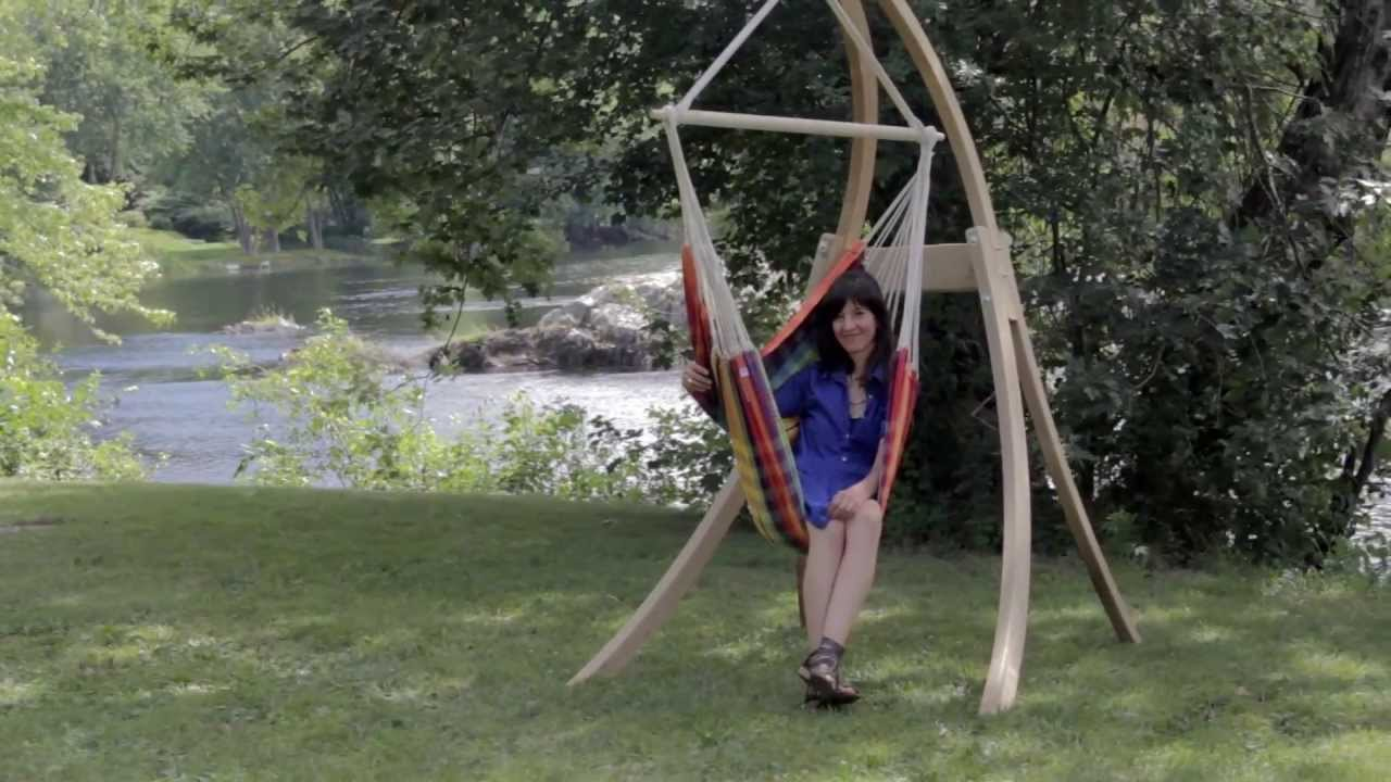 brazil hanging chair from byer of maine brazil hanging chair from byer of maine   youtube  rh   youtube