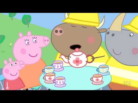 Peppa Pig - Mr Bull in a China Shop (44 episode / 4 season) [HD]