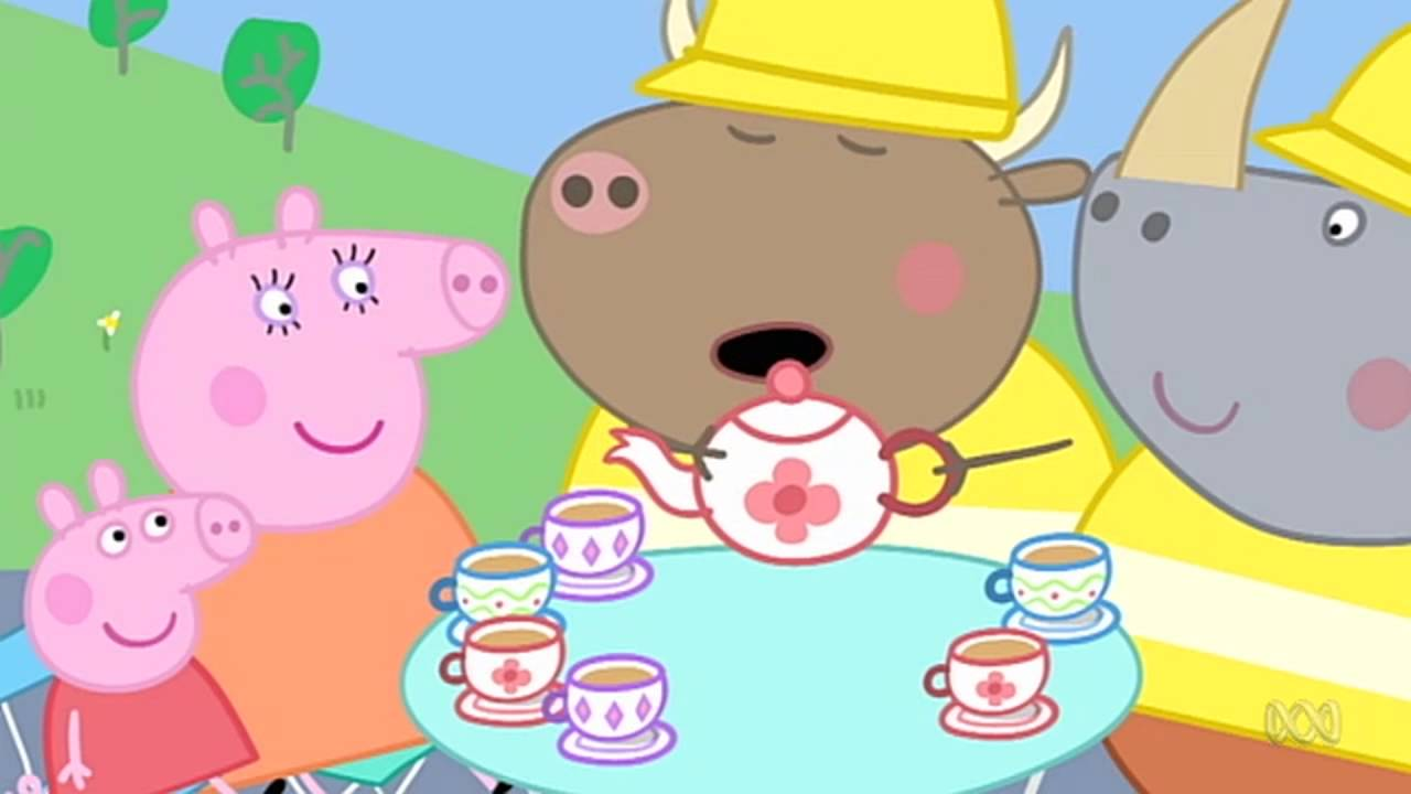 Peppa Pig - Mr Bull in a China Shop (44 episode / 4 season) [HD]