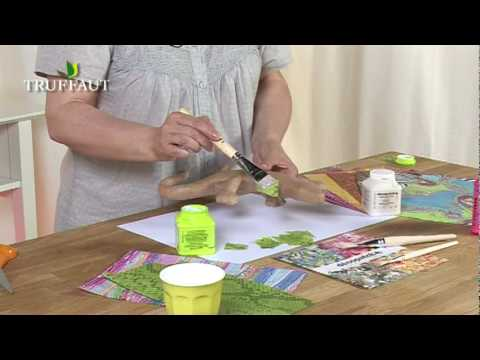 Diy d co d couvrir le decopatch jardinerie truffaut tv for Decoration avec du papier