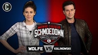 Clarke Wolfe vs. Mike Kalinowski - Movie Trivia Schmoedown