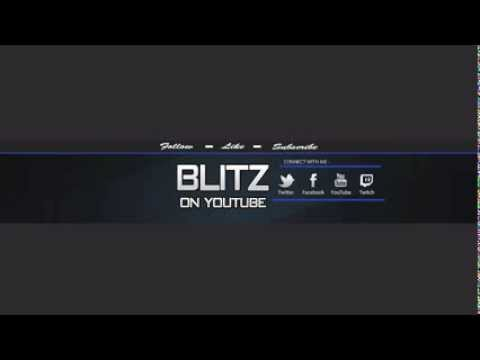 FREE OneChannel Banner (PSD Template) - YouTube