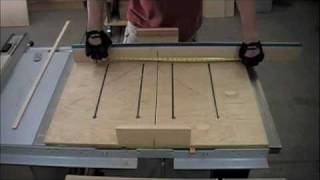 Woodworking - How To Make A Dado Sled For Table Saw