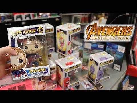 Infinity War Funko Pop Hunting!