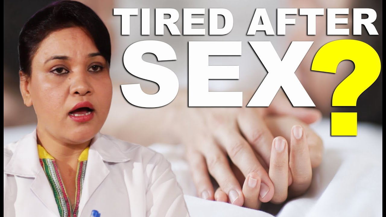 feel tired after sex