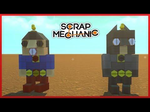 Superman Vs Batman | Scrap Mechanic Gameplay