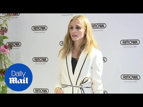 Olivia Palermo looking stylish in suit by Zara at RIMOWA - Daily Mail