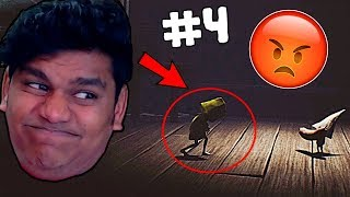 I HATE HIM NOW 😡😡 | Little Nightmares #4 |