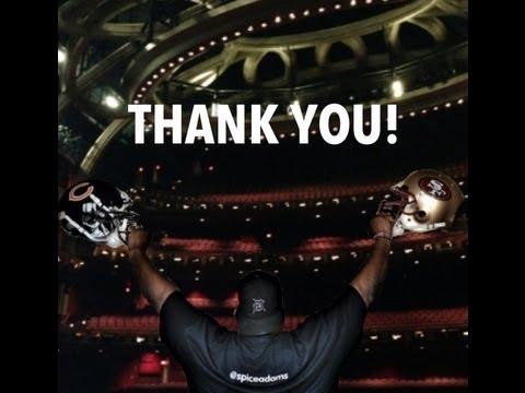 Anthony Adams' NFL retirement announcement at White Castle