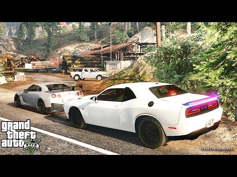 GTA 5 MODS LSPDFR 942  - HELLCAT PATROL!!! (GTA 5 REAL LIFE PC MOD)