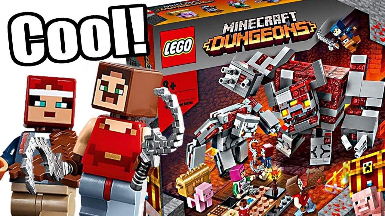 LEGO Minecraft 11 Summer sets! Even a LEGO Minecraft Dungeons set?!