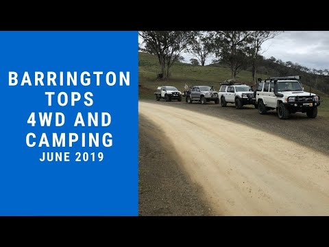 Barrington Tops Camping And 4wding Part 1