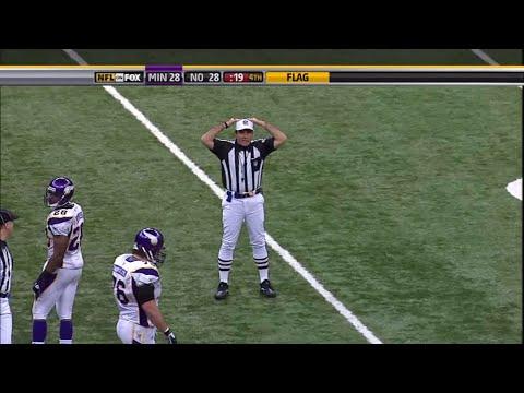 Minnesota Vikings @ New Orleans Saints 2009 NFC Championship