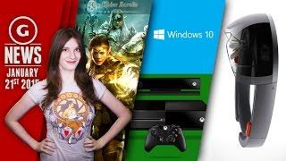 Windows 10 Free Upgrade; Microsoft's New Hologram Headgear! - GS Daily News
