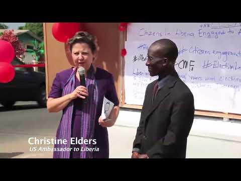 US Ambassador to Liberia relaunch DAILY TALK