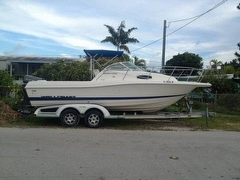 used 1996 wellcraft 23 excel walk around for sale in key west florida